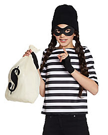 Kids Burglar Costume Kit