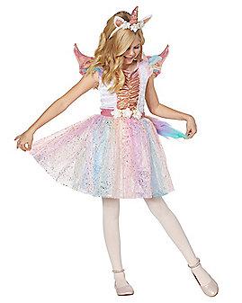 Kids Rosy Unicorn Costume
