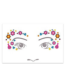 Poppy Face Decal - Trolls