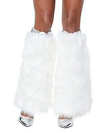 White Unicorn Legwarmers
