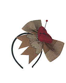 Pinned Heart Voodoo Headband