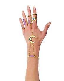 Gypsy Bracelet and Rings Set