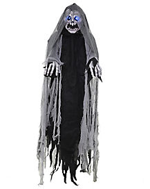 6 Ft Light Up Wailing Ghost Hanging Prop - Decorations