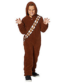 Kids Chewbacca Pajama Costume - Star Wars