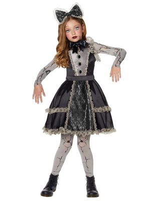 Steampunk Dresses | Women & Girl Costumes Broken Doll Costume - The Signature Collection by Spirit Halloween $59.99 AT vintagedancer.com