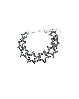Shimmering Star Choker Necklace