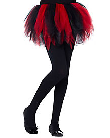Kids Black and Red Tutu
