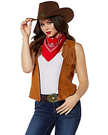 Cowgirl Costume Kit