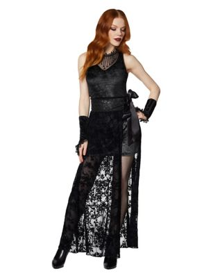 Steampunk Dresses | Women & Girl Costumes Adult Midnight Vampire Costume by Spirit Halloween $49.99 AT vintagedancer.com
