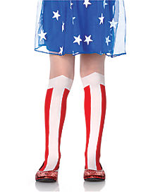 Kids Wonder Woman Tights - DC Comics
