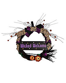 Wicked Welcome Wreath