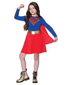 Kids Supergirl Dress Costume - DC Comics