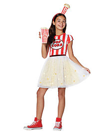 Kids Popcorn Dress Costume