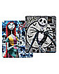 Jack and Sally Reversible Fleece Blanket - The Nightmare Before Christmas