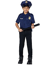 Kids Cop Costume Kit