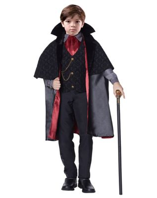 Victorian Kids Costumes & Shoes- Girls, Boys, Baby, Toddler Kids Vampire Costume - The Signature Collection by Spirit Halloween $59.99 AT vintagedancer.com