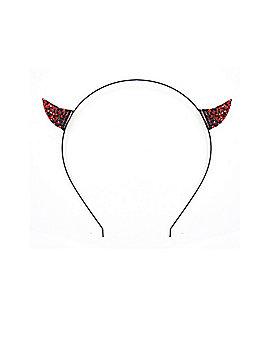 Devil Rhinestone Headband