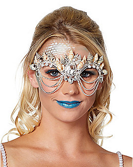 Mermaid Shell Diamond Eye Mask