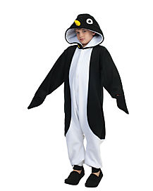 Kids Penguin Union Suit