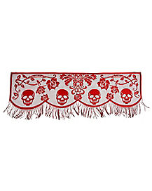 2 Ft Gothic Romance Mantel Scarf - Decorations