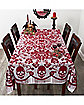 7 Ft Gothic Romance Tablecloth - Decorations
