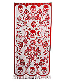 7 Ft Gothic Romance Door Curtain - Decorations