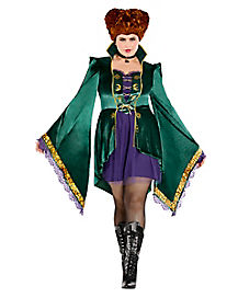 Winifred Sanderson Dress - Hocus Pocus  sc 1 st  Spirit Halloween : skeleton costumes female - Germanpascual.Com