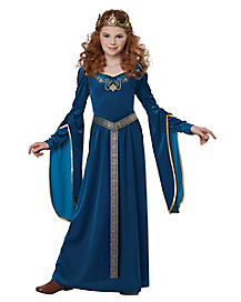 Kids Medieval Princess Costume