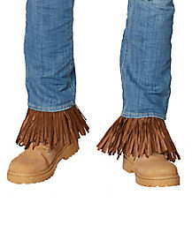 Adult Dark Brown Scarecrow Arm and Leg Cuffs