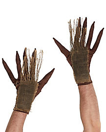 Adult Scary Scarecrow Gloves