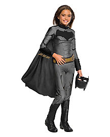 Kids Batman Jumpsuit Costume - Justice League