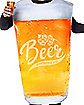 Oktoberfest Adult Pint Glass Beer Costume