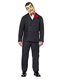 adult slappy the dummy costume goosebumps