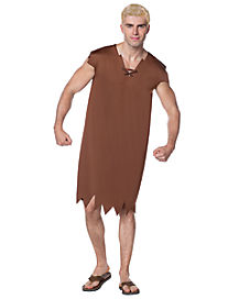 Adult Barney Rubble Costume - The Flintstones