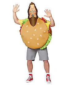 Adult Beefsquatch Costume - Bob's Burgers