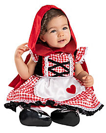Baby Lil' Red Riding Hood Costume