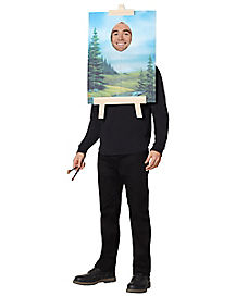 bob ross painting costume firefly