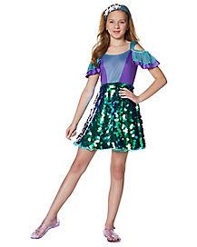 kids mermaid dress