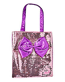 JoJo Siwa Sequin Bow Tote Bag