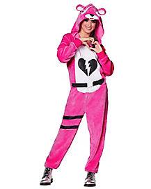 Adult Plush Cuddle Team Leader Costume - Fortnite