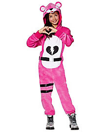 Kids Plush Cuddle Team Leader Costume - Fortnite