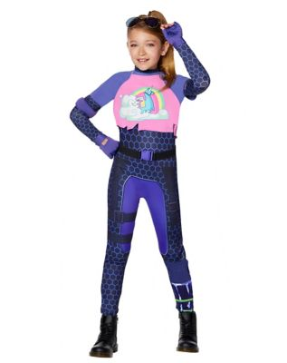 Kid's Brite Bomber Costume - Fortnite