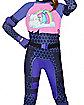 Girls Brite Bomber Costume - Fortnite