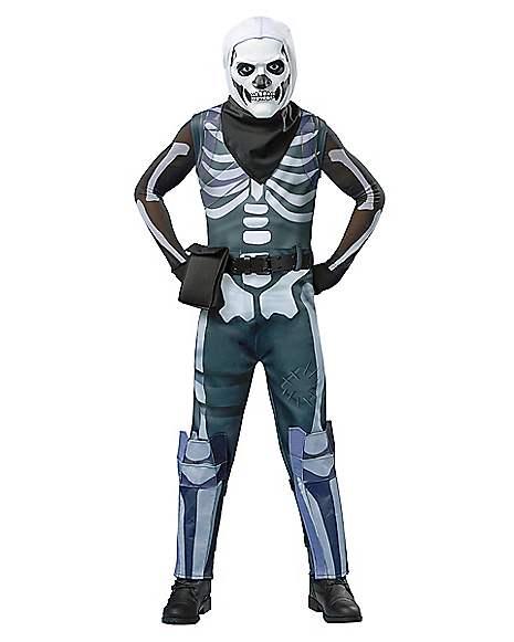 5ba2ab4eac90 Kids Skull Trooper Costume - Fortnite - Spirithalloween.com