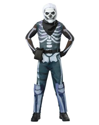 Kid's Skull Trooper Costume - Fortnite