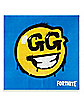 Battle Bus GG Smiley Face Beverage Napkins 16 Pack - Fortnite