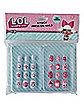 Kids Press On Nails 4 Pack - LOL Surprise Doll