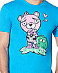Adult Cuddle Team Leader Love T Shirt - Fortnite