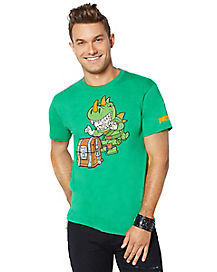 Adult Chibi Rex T Shirt - Fortnite
