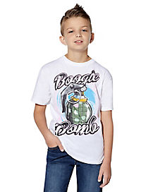 Kids Boogie Bomb T Shirt - Fortnite